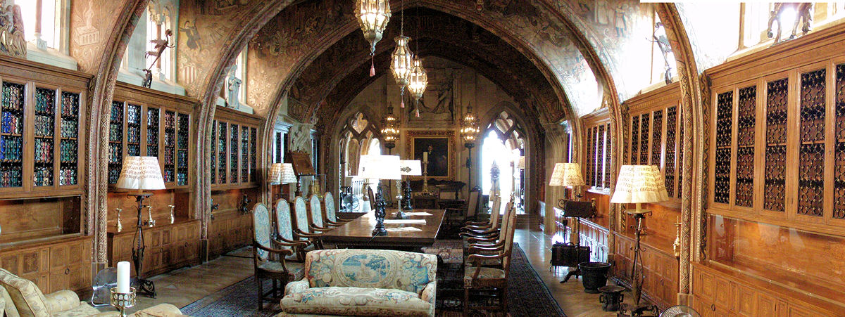 Meeting rooms, Hearst Castle
