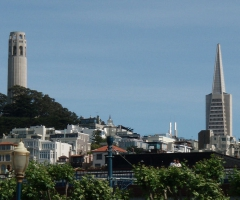 Coit and Transamerica Buildings