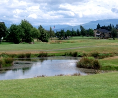 The 18th hole, Linden Washington