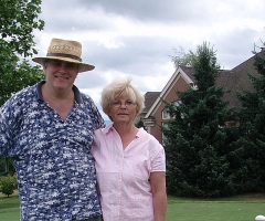 Joy and Maurice, Linden, July 2007