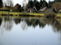 The lake at Boundary Park