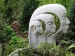 Tri-Face-Sculpture