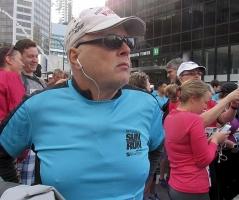 Maurice on the run